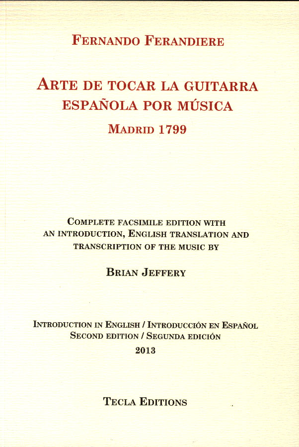 Ferandiere - Arte de Tocar la Guitarra Picture