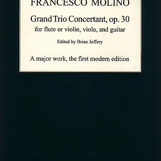 Molino - Grand Trio Concertant op.30