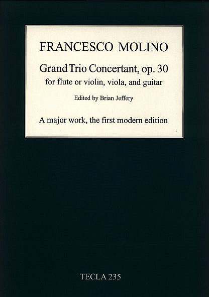 Molino - Grand Trio Concertant op.30