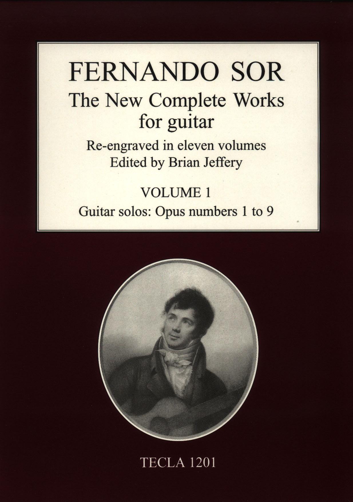 Sor - New Complete Works Vol.1 Image