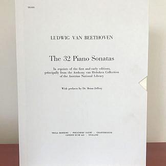 Beethoven - 32 Piano Sonatas web image