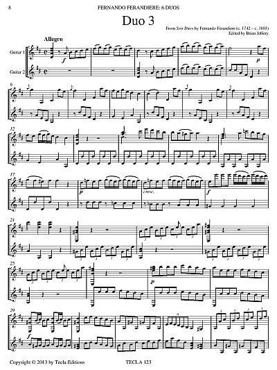 Seis Dúos page 1