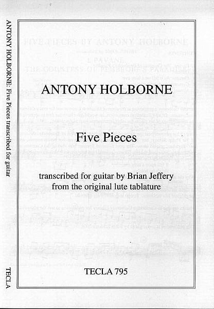 Holborne, Anthony