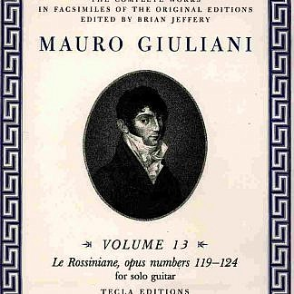 Giuliani - Complete-Rossiniane Complete-works volume.13