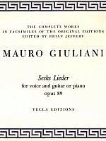 giuliani-sechs-lieder